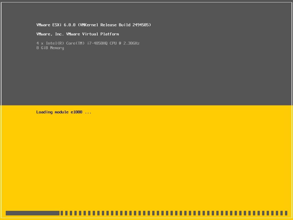 VMware ESXi 6.0